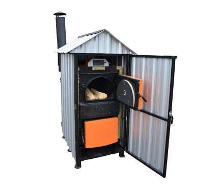 Outdoor wood fired boilers