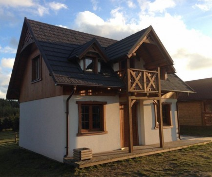 Timber house prefabricated log home wooden house